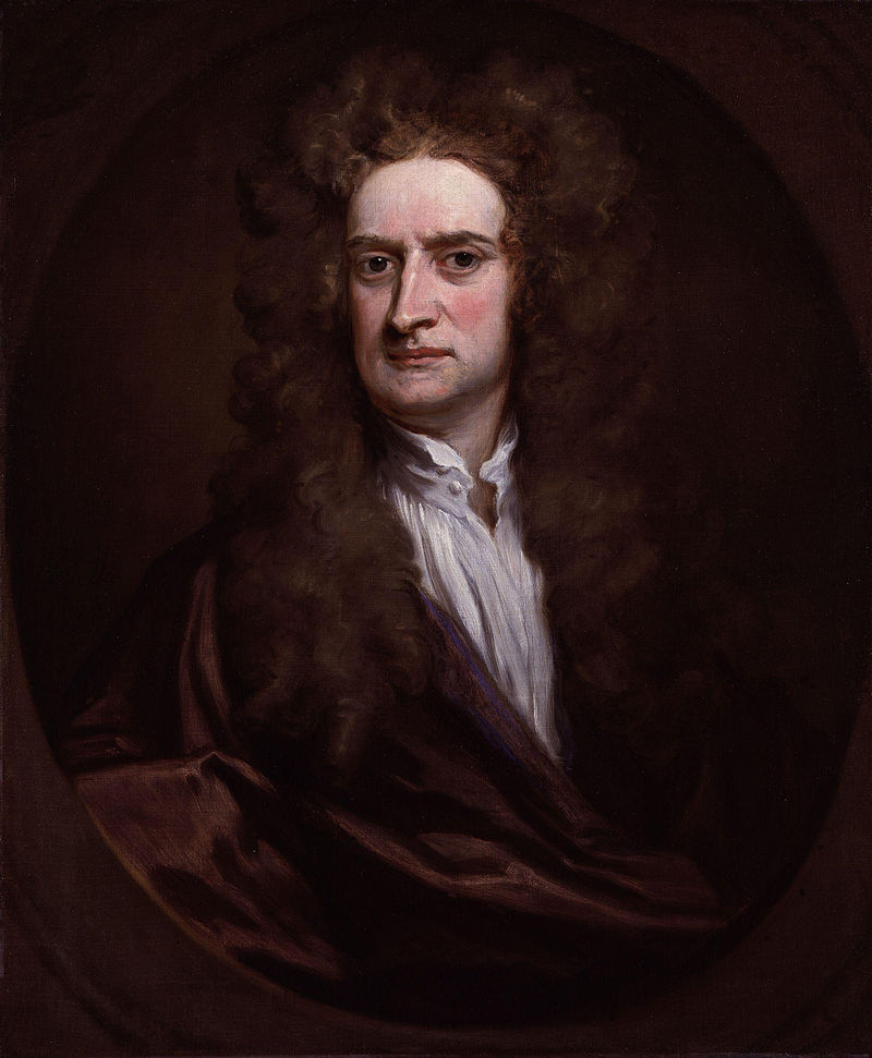 800px Sir Isaac Newton by Sir Godfrey Kneller Bt